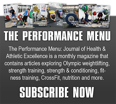 Subscribe to the Performance Menu Magazine