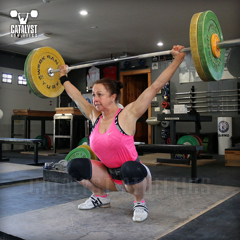 Aimee snatch - Olympic Weightlifting, strength, conditioning, fitness, nutrition - Catalyst Athletics