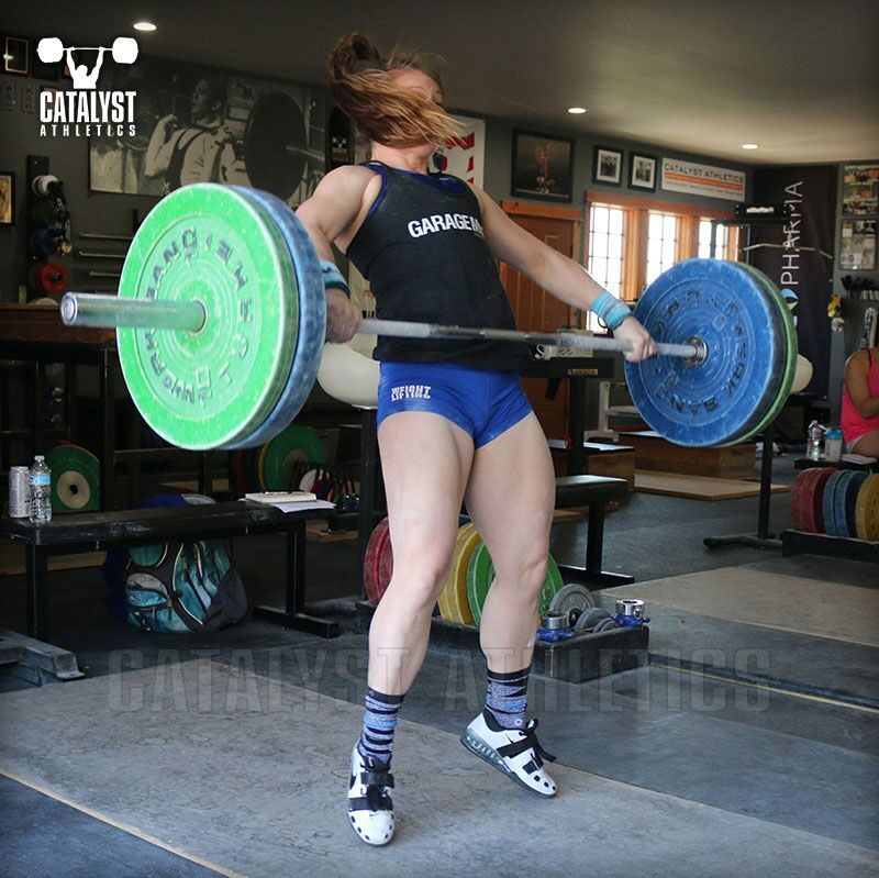 Lindsay snatch - Olympic Weightlifting, strength, conditioning, fitness, nutrition - Catalyst Athletics