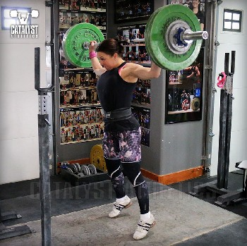 Aimee snatch push press - Olympic Weightlifting, strength, conditioning, fitness, nutrition - Catalyst Athletics