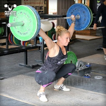 Chelsea snatch - Olympic Weightlifting, strength, conditioning, fitness, nutrition - Catalyst Athletics