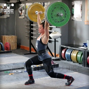 Jess jerk - Olympic Weightlifting, strength, conditioning, fitness, nutrition - Catalyst Athletics