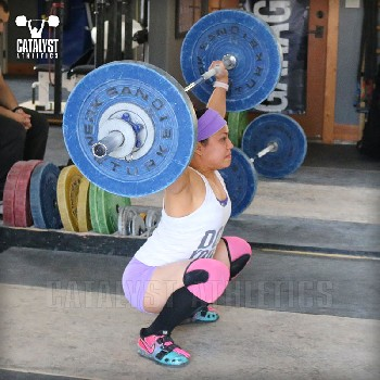 Snow snatch - Olympic Weightlifting, strength, conditioning, fitness, nutrition - Catalyst Athletics