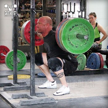 Mike back squat - Olympic Weightlifting, strength, conditioning, fitness, nutrition - Catalyst Athletics