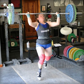 Lindsay jerk - Olympic Weightlifting, strength, conditioning, fitness, nutrition - Catalyst Athletics