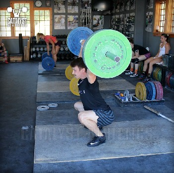 Cody snatch - Olympic Weightlifting, strength, conditioning, fitness, nutrition - Catalyst Athletics