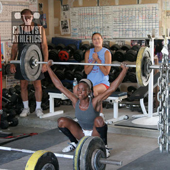 Keysha making another impossible save - Olympic Weightlifting, strength, conditioning, fitness, nutrition - Catalyst Athletics