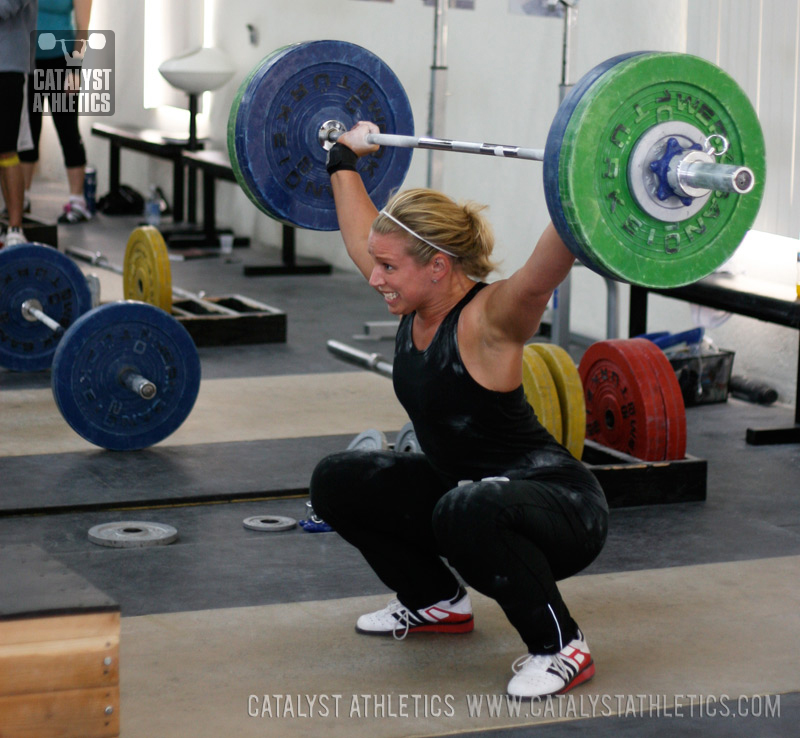 The Inside Track On Powerlifting Tactics: Pull Down For A Better Turnover In The Snatch & Clean By