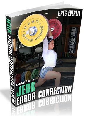 Snatch Error Correction Manual by Greg Everett
