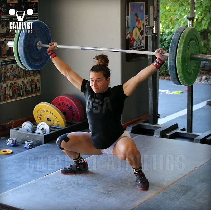 Jess snatch - Olympic Weightlifting, strength, conditioning, fitness, nutrition - Catalyst Athletics