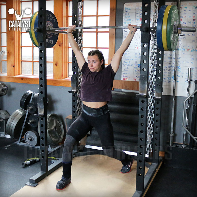 Jess jerk recovery - Olympic Weightlifting, strength, conditioning, fitness, nutrition - Catalyst Athletics