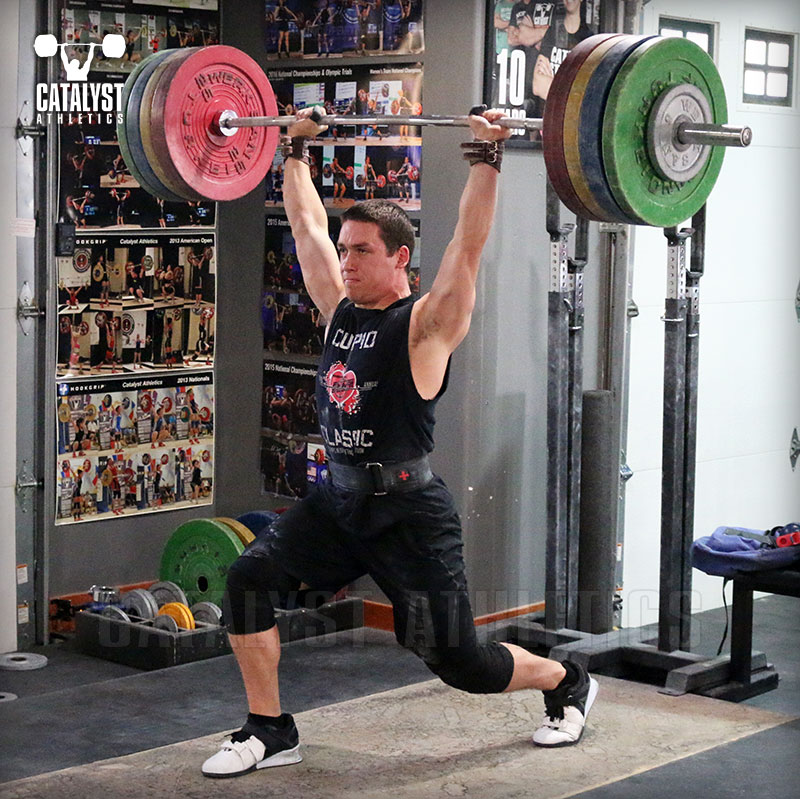John jerk - Olympic Weightlifting, strength, conditioning, fitness, nutrition - Catalyst Athletics