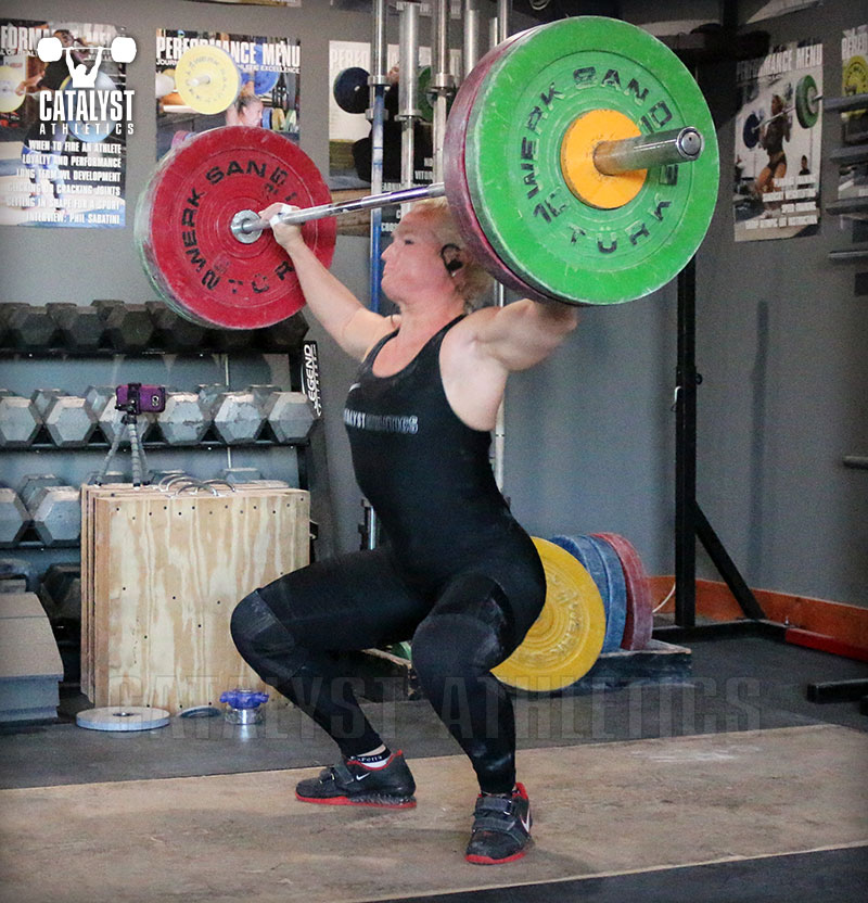 Sarabeth snatch - Olympic Weightlifting, strength, conditioning, fitness, nutrition - Catalyst Athletics