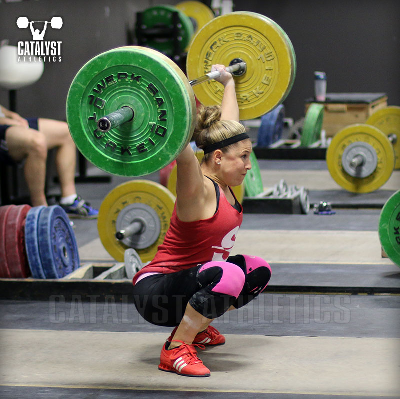 Danielle snatch - Olympic Weightlifting, strength, conditioning, fitness, nutrition - Catalyst Athletics