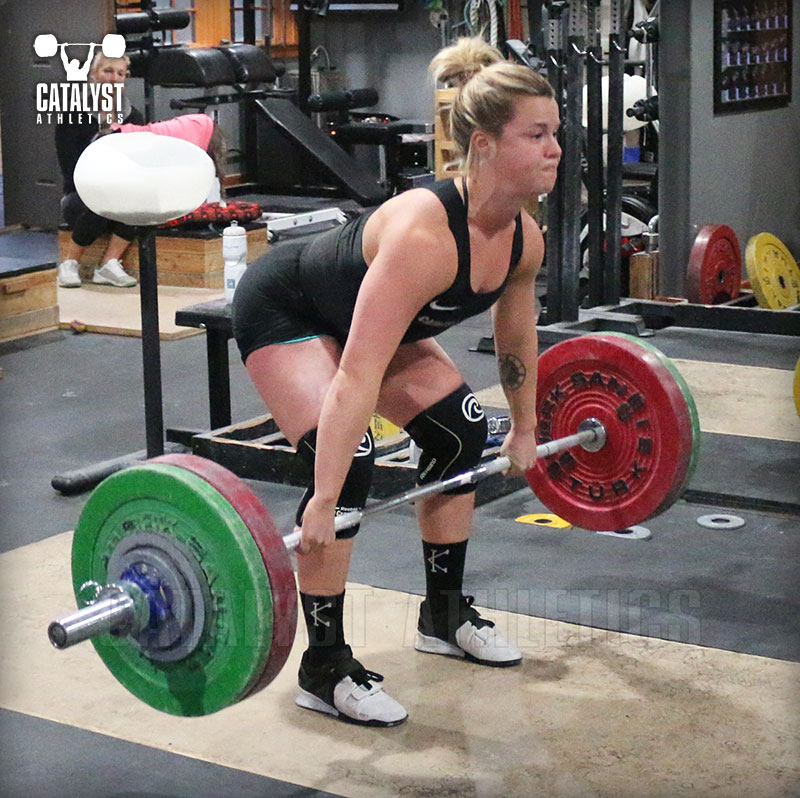 Carly clean - Olympic Weightlifting, strength, conditioning, fitness, nutrition - Catalyst Athletics