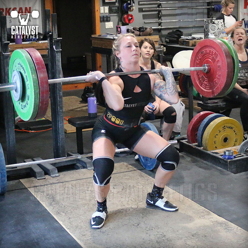 Kristin clean - Olympic Weightlifting, strength, conditioning, fitness, nutrition - Catalyst Athletics