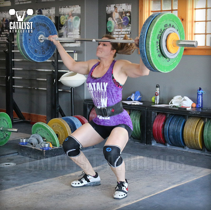 Erin snatch - Olympic Weightlifting, strength, conditioning, fitness, nutrition - Catalyst Athletics