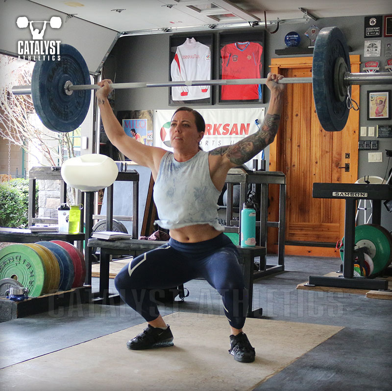 Michelle snatch - Olympic Weightlifting, strength, conditioning, fitness, nutrition - Catalyst Athletics