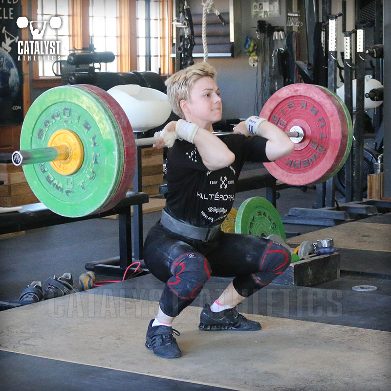 Amanda clean - Olympic Weightlifting, strength, conditioning, fitness, nutrition - Catalyst Athletics