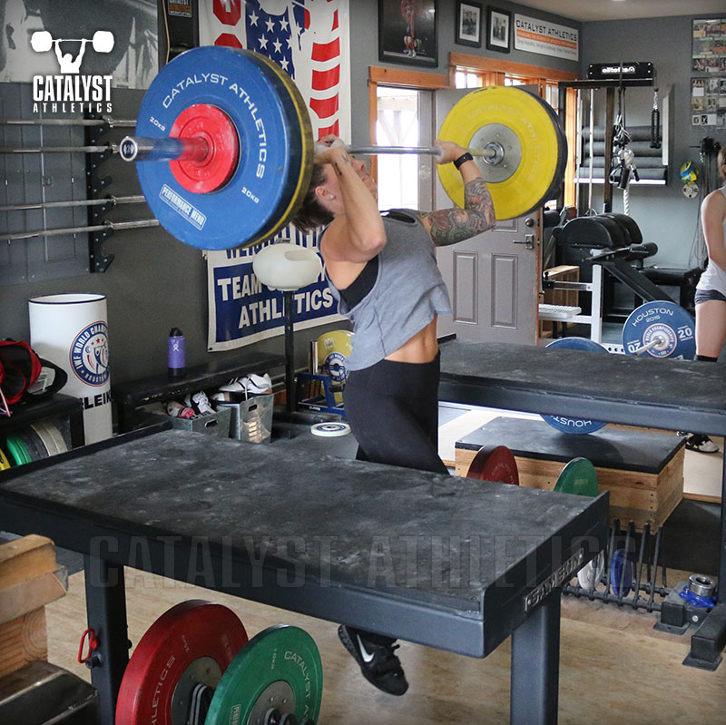 Michelle jerk - Olympic Weightlifting, strength, conditioning, fitness, nutrition - Catalyst Athletics