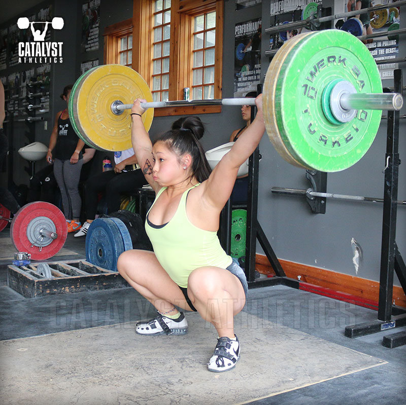 Lily snatch - Olympic Weightlifting, strength, conditioning, fitness, nutrition - Catalyst Athletics
