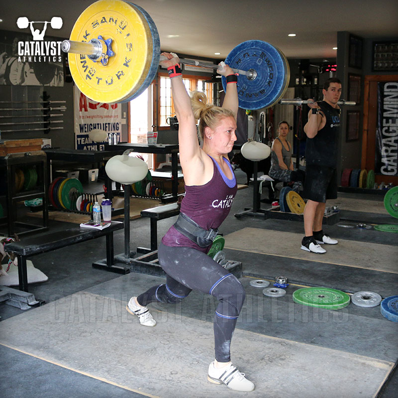 Chelsea jerk - Olympic Weightlifting, strength, conditioning, fitness, nutrition - Catalyst Athletics