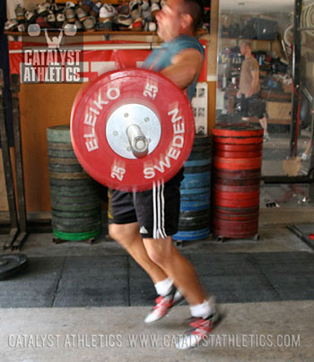 Split snatch - Olympic Weightlifting, strength, conditioning, fitness, nutrition - Catalyst Athletics