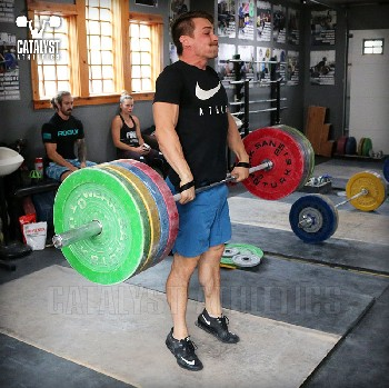 Cody clean pull - Olympic Weightlifting, strength, conditioning, fitness, nutrition - Catalyst Athletics
