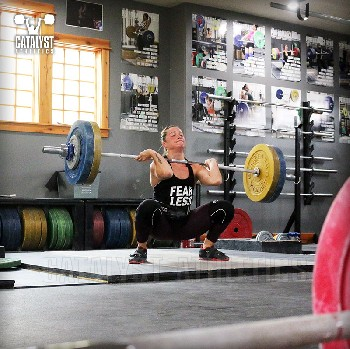 Jess clean - Olympic Weightlifting, strength, conditioning, fitness, nutrition - Catalyst Athletics