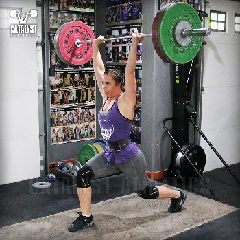 Susan jerk - Olympic Weightlifting, strength, conditioning, fitness, nutrition - Catalyst Athletics