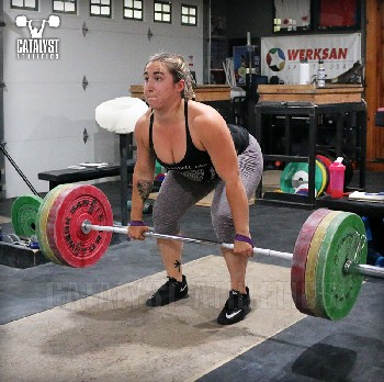 Sam clean pull - Olympic Weightlifting, strength, conditioning, fitness, nutrition - Catalyst Athletics
