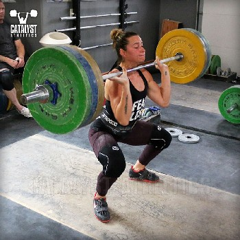 Jessica clean - Olympic Weightlifting, strength, conditioning, fitness, nutrition - Catalyst Athletics