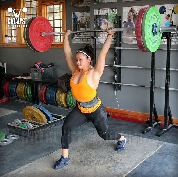 Lily jerk - Olympic Weightlifting, strength, conditioning, fitness, nutrition - Catalyst Athletics