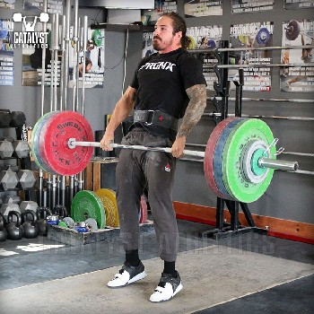 Christian clean - Olympic Weightlifting, strength, conditioning, fitness, nutrition - Catalyst Athletics