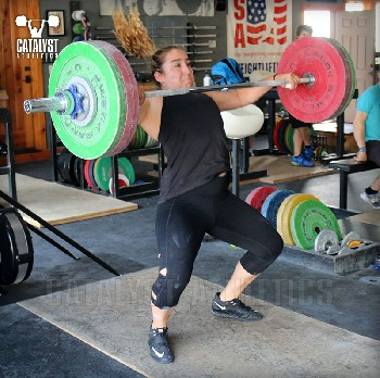 Sam snatch - Olympic Weightlifting, strength, conditioning, fitness, nutrition - Catalyst Athletics