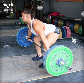 Lily snatch pull - Olympic Weightlifting, strength, conditioning, fitness, nutrition - Catalyst Athletics