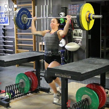 Aimee jerk - Olympic Weightlifting, strength, conditioning, fitness, nutrition - Catalyst Athletics