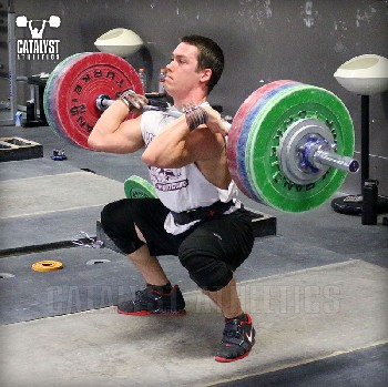 John clean - Olympic Weightlifting, strength, conditioning, fitness, nutrition - Catalyst Athletics