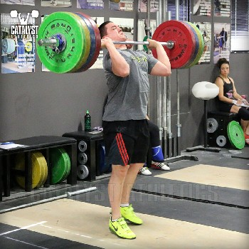 Steve jerk - Olympic Weightlifting, strength, conditioning, fitness, nutrition - Catalyst Athletics