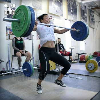 Kari snatch - Olympic Weightlifting, strength, conditioning, fitness, nutrition - Catalyst Athletics
