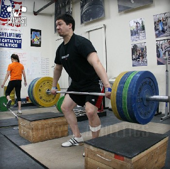 Steve block snatch pull - Olympic Weightlifting, strength, conditioning, fitness, nutrition - Catalyst Athletics