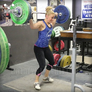 Chelsea snatch balance - Olympic Weightlifting, strength, conditioning, fitness, nutrition - Catalyst Athletics