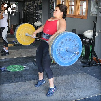 Lily clean - Olympic Weightlifting, strength, conditioning, fitness, nutrition - Catalyst Athletics