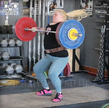 Katlin clean - Olympic Weightlifting, strength, conditioning, fitness, nutrition - Catalyst Athletics