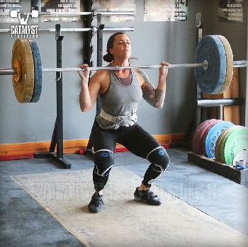 Michelle clean - Olympic Weightlifting, strength, conditioning, fitness, nutrition - Catalyst Athletics