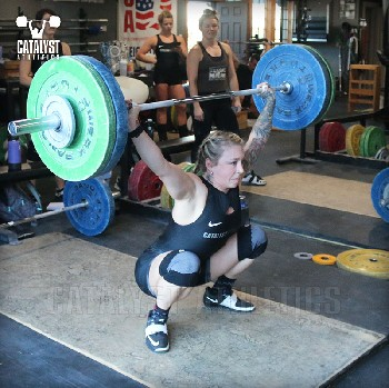 Kristin snatch - Olympic Weightlifting, strength, conditioning, fitness, nutrition - Catalyst Athletics