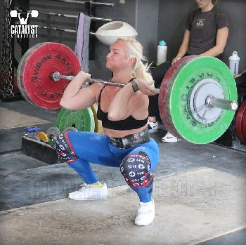 Sarabeth clean - Olympic Weightlifting, strength, conditioning, fitness, nutrition - Catalyst Athletics