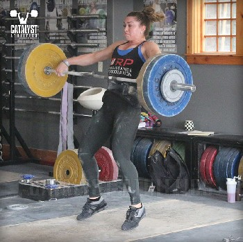 Mattie snatch - Olympic Weightlifting, strength, conditioning, fitness, nutrition - Catalyst Athletics