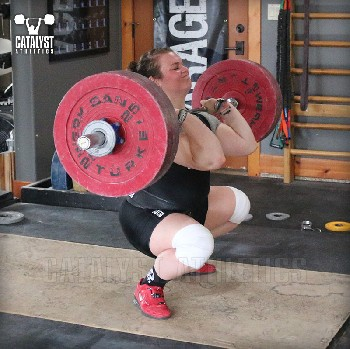 Juliana clean - Olympic Weightlifting, strength, conditioning, fitness, nutrition - Catalyst Athletics