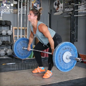 Nicole snatch - Olympic Weightlifting, strength, conditioning, fitness, nutrition - Catalyst Athletics